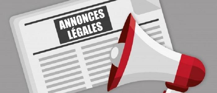 Comment déposer une annonce dans un journal d'annonce légale ?